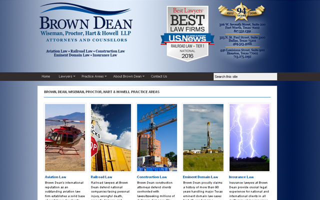 brown-dean-wordpress-site-2016